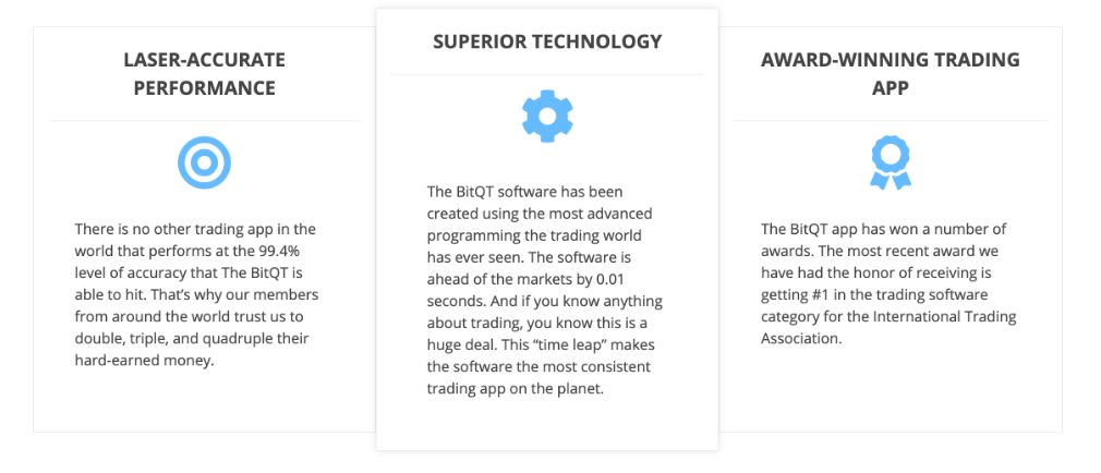 BitQT trading features