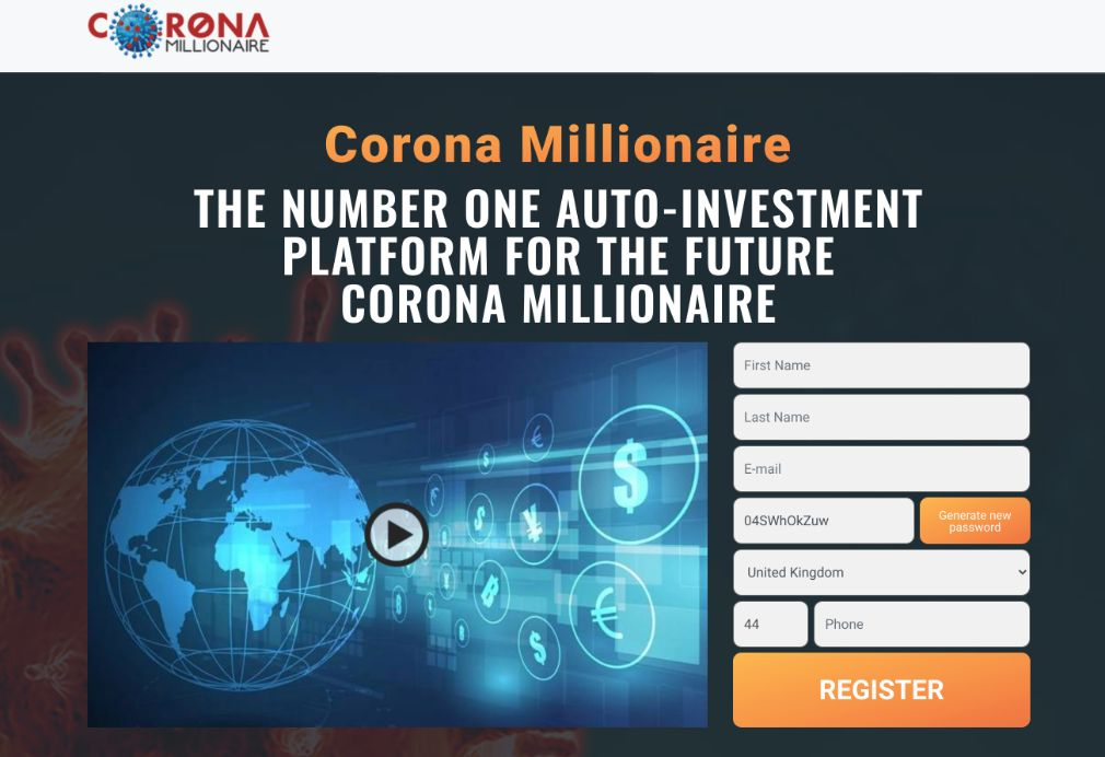 Corona Millionaire Review - Is it Scam?