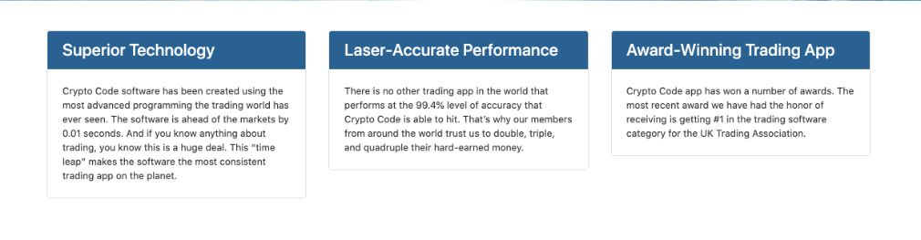 Benefits of trading with Crypto Code
