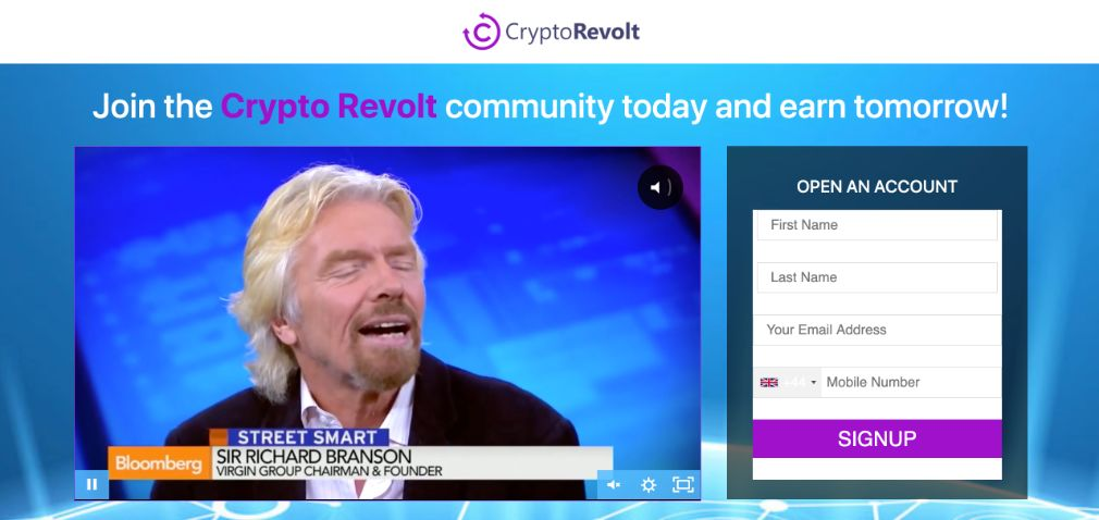 Crypto Revolt Review - Is it Scam?